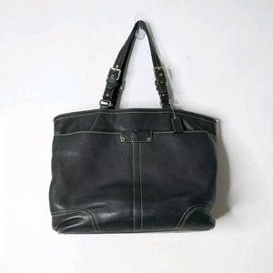 Coach Pebbled Leather Hamilton Tote Bag